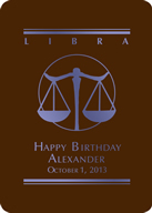 Libra Custom Playing Cards