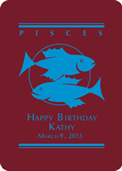 Pisces Custom Playing Cards