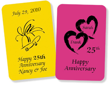 Custom Cards for Anniversaries