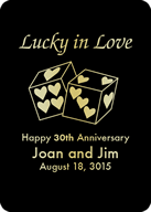 Lucky Love Custom Playing Cards