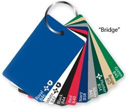 Champion Bridge Size Card Colors