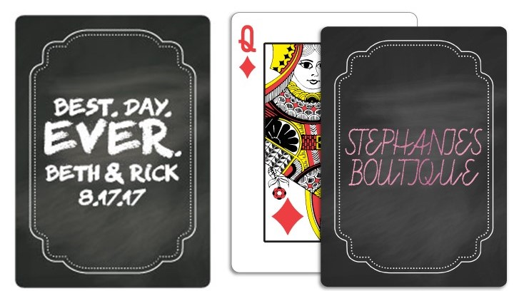 Money Custom Playing Cards