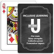 Chalkboard Playing Cards
