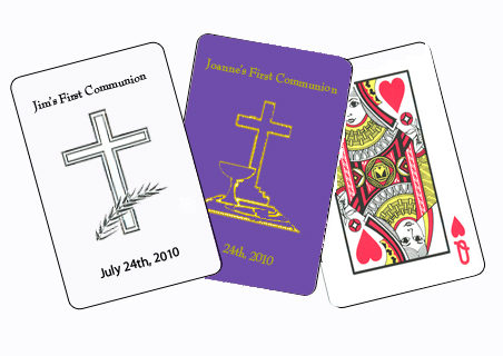 Custom Cards for Communions/Confirmations