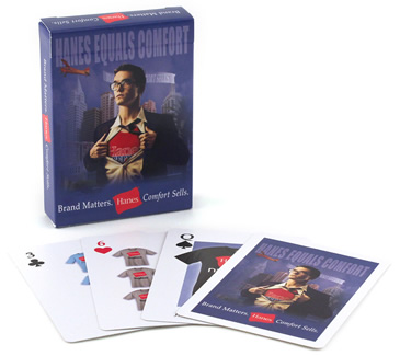Hanes Playing Cards