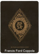 Francis Ford Coppola Custom Playing Cards Back