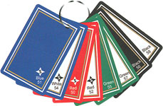Gemtone Playing Card Color Choices