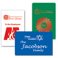 Holiday Playing Cards Holiday Icons