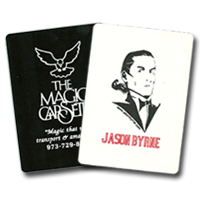 Hot Stamped Magicians Playing Cards