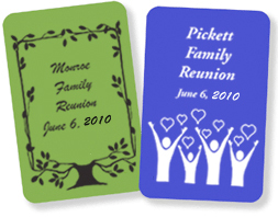 Custom Cards for Reunions